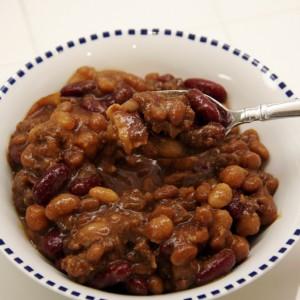 4 Bean Hot Dish