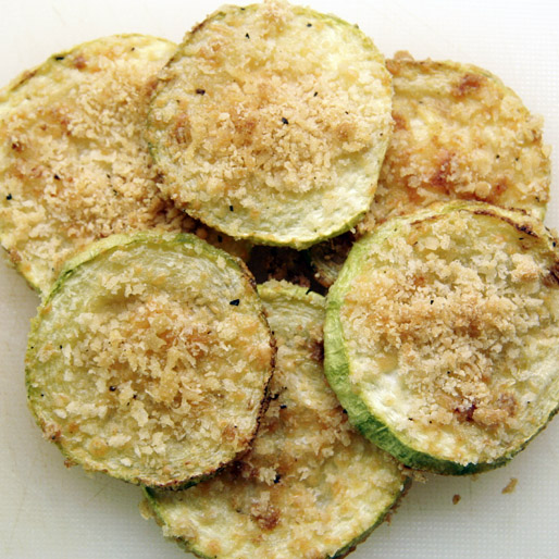Zucchini Parmesan Crisps | Kelly's Cravings